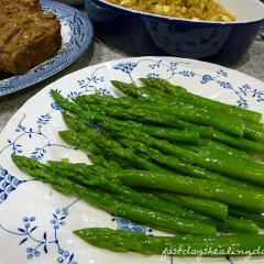 Asparagus in Brown Butter