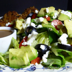 Fast Day (FD) Avocado Blue Cheese Side Salad