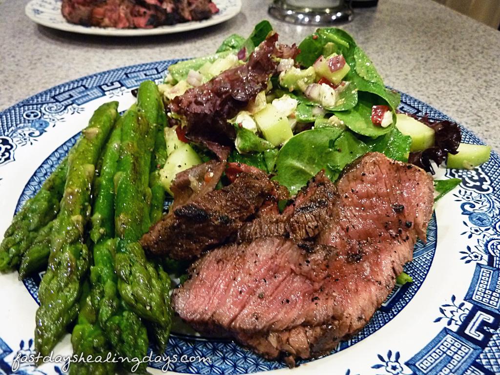 ribeye-asparagus-salad