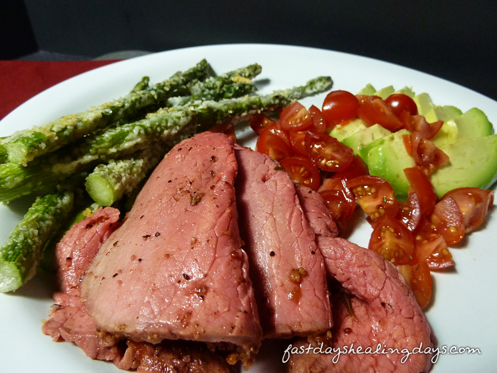 roast-beef-ginger-rosemary-plate