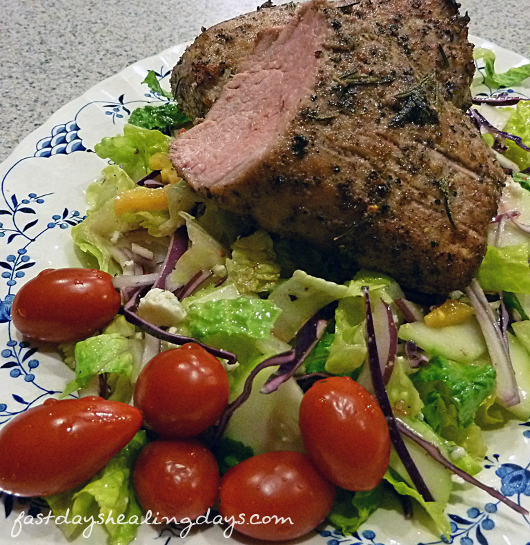 roasted-pork-tenderloin-chopped-salad
