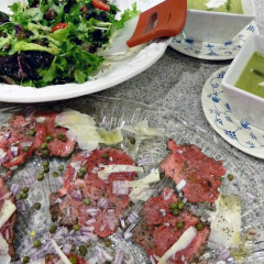 Fast Day Valentine's Day Dinner – Beef Carpaccio