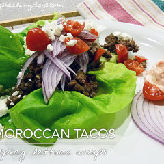 Moroccan Lettuce Cups (aka Wraps)