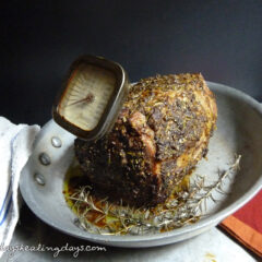 Roast Beef With Ginger And Rosemary
