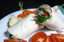 Fast Day Meal Plan | Smoked Gouda Turkey Club Wrap